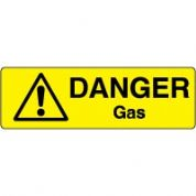 Markers safety sign - Gas 006